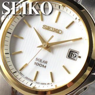 セイコー(SEIKO)の★定価3万円★セイコー/SEIKO/ソーラー/レディース/腕時計WW1350(腕時計)