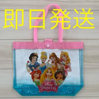 ディズニー(Disney)のプリンセス プールバッグ ビニールバッグ ディズニー 女の子 子供 キッズ 水泳(その他)