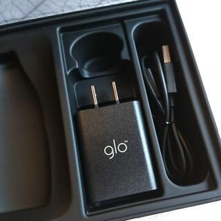 glo - glo 純正 充電器 ブラック
