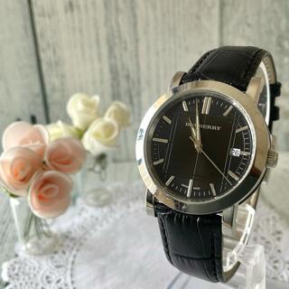 バーバリー(BURBERRY)の【動作OK】BURBERRY バーバリー BU1354 腕時計 シルバー(腕時計(アナログ))