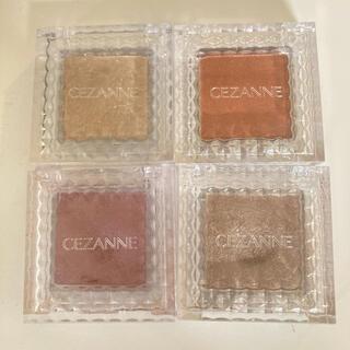 CEZANNE(セザンヌ化粧品) - セザンヌ シングルカラーアイシャドウ セット
