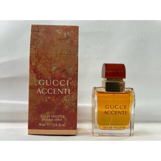 グッチ(Gucci)のGUCCI ACCENTI   EDT 30ml  (香水(男性用))