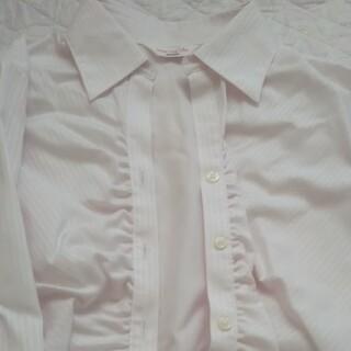 アオキ(AOKI)のアオキ  薄ピンクシャツ(シャツ/ブラウス(長袖/七分))