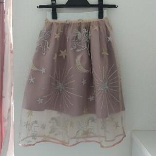 ANNA SUI mini - ANNA SUI mini チュールスカート Mサイズ