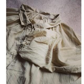 ネストローブ(nest Robe)のやまおさま専用 nest Robe コットンシルクブラウス(シャツ/ブラウス(長袖/七分))