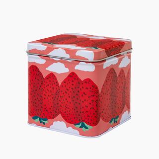マリメッコ(marimekko)のMansikkavuoret   ティンボックス マリメッコ 缶 ボックス(テーブル用品)