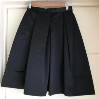 ノーブル(Noble)のノーブル サテンフレアスカート(ひざ丈スカート)