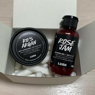 LUSH - ラッシュ ローズジャム・Ros' argan set