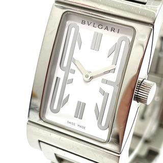 ブルガリ(BVLGARI)のブルガリ RT39S レッタンゴロ レディース腕時計 シルバー(腕時計)