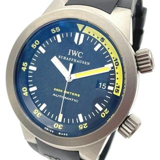 インターナショナルウォッチカンパニー(IWC)のIWC IW353804 デイト アクアタイマー2000 メンズ腕時計(腕時計(アナログ))