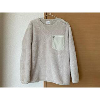 ユニクロ(UNIQLO)のUNIQLO Engineered Garments S(ベージュ)(ニット/セーター)