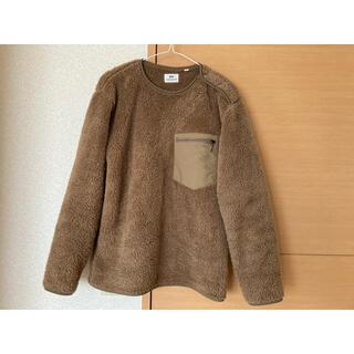 ユニクロ(UNIQLO)のUNIQLO Engineered Garments S ブラウン(ニット/セーター)