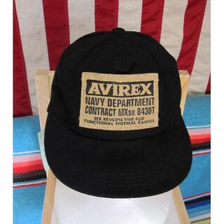 アヴィレックス(AVIREX)の80's・AVIREX・アビレックス・オールドキャップ・新品・送料込(キャップ)