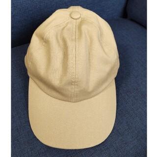 ジーユー(GU)のGU 帽子 キャップ ベージュ ジーユー(キャップ)