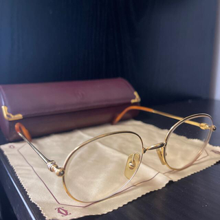 Cartier - ※  Cartier/カルティエ ヴィンテージ メガネ
