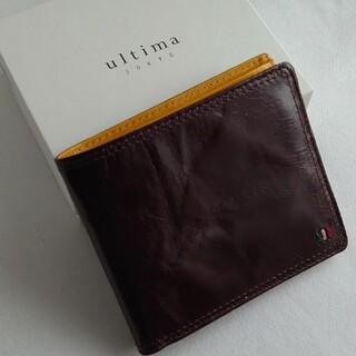 エース(ace.)の新品 ultima TOKYO ウルティマ トーキョー 二つ折り財布 ブラウン(折り財布)