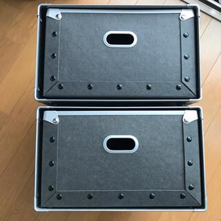 ムジルシリョウヒン(MUJI (無印良品))の(kaetoro様専用)無印良品 硬質パルプボックス 4個セット(ケース/ボックス)