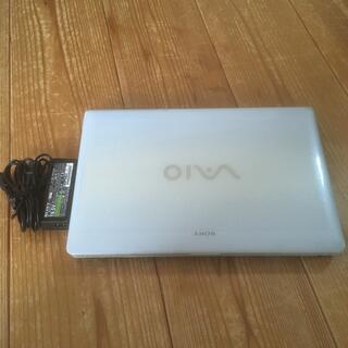バイオ(VAIO)のsony vaio PCG-7131 1n ノートパソコン ジャンク HDD無(ノートPC)