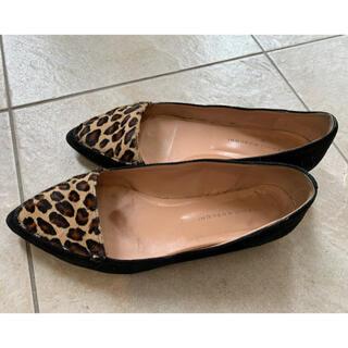 ファビオルスコーニ(FABIO RUSCONI)のファビオルスコーニ 豹柄ローファー(ローファー/革靴)
