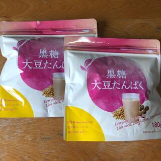 タイショウセイヤク(大正製薬)の大正製薬 黒糖大豆たんぱく180g×2袋 賞味期限 2021.12(プロテイン)