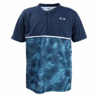 オークリー(Oakley)の新品 OAKLEY オークリー ヘンリーネック 半袖Tシャツ テニスウェア M(ウェア)