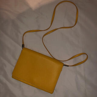 エイチアンドエム(H&M)のH&M バック 鞄 ショルダー 黄色(ショルダーバッグ)