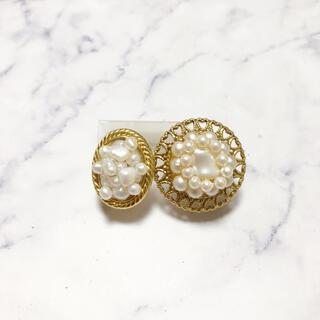 アッシュペーフランス(H.P.FRANCE)のhandmade * classical pearl earring set(イヤリング)