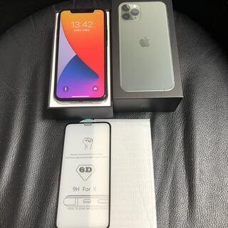 アイフォーン(iPhone)のiPhone11Pro グリーン512GB SIMフリー中古 (スマートフォン本体)