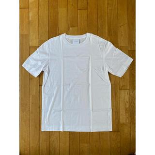 ドゥロワー(Drawer)の極美品 SLOANE スローン コットン天竺Tシャツ サイズ5 ホワイト(Tシャツ/カットソー(半袖/袖なし))