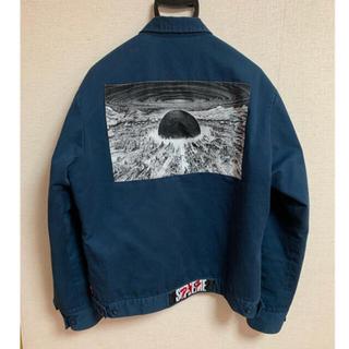 Supreme - supreme Akira work jacket navy