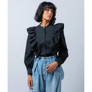 ダブルスタンダードクロージング(DOUBLE STANDARD CLOTHING)の新品未使用 ダブルスタンダードクロージング sov スタンドカラーフリルシャツ(シャツ/ブラウス(長袖/七分))