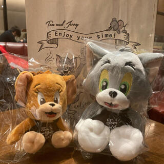 TULLY'S COFFEE - Tully's Coffee トムとジェリー マスコットキーホルダーセット