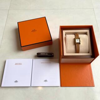 Hermes - 新品・国内直営店購入 エルメス Hウォッチ ミニ ゴールド ゴールド金具
