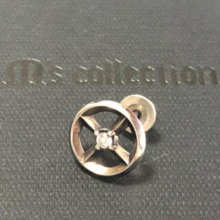 エムズコレクション(M's collection)のM's collection 片耳1p ダイヤピアス エムズコレコション(ピアス(片耳用))