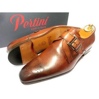 サントーニ(Santoni)の【新品◆定価38500円】Pertini ペルティニ 革靴 42 27cm(ドレス/ビジネス)
