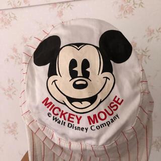 ミッキーマウス(ミッキーマウス)のヴィンテージ ディズニー ミッキー 帽子(帽子)