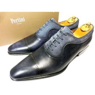 サントーニ(Santoni)の【新品◆定価40500円】】Pertini ペルティニ 革靴 42 27cm(ドレス/ビジネス)