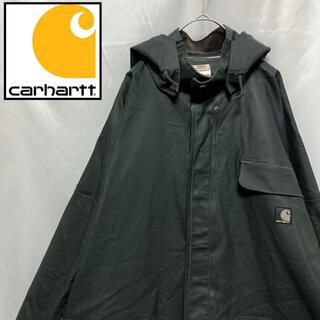カーハート(carhartt)の〔希少〕Carhartt カーハート レインコート 襟コーデュロイ XL(レインコート)