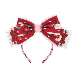 アンジェリックプリティー(Angelic Pretty)の摘みたていちご ジャンパースカート 赤セット(ひざ丈ワンピース)