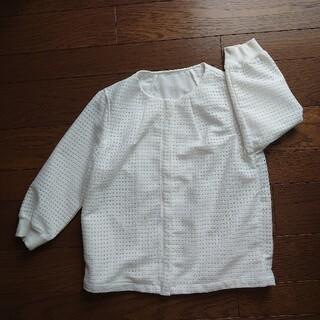 ルクールブラン(le.coeur blanc)のノーカラージャケット(ノーカラージャケット)