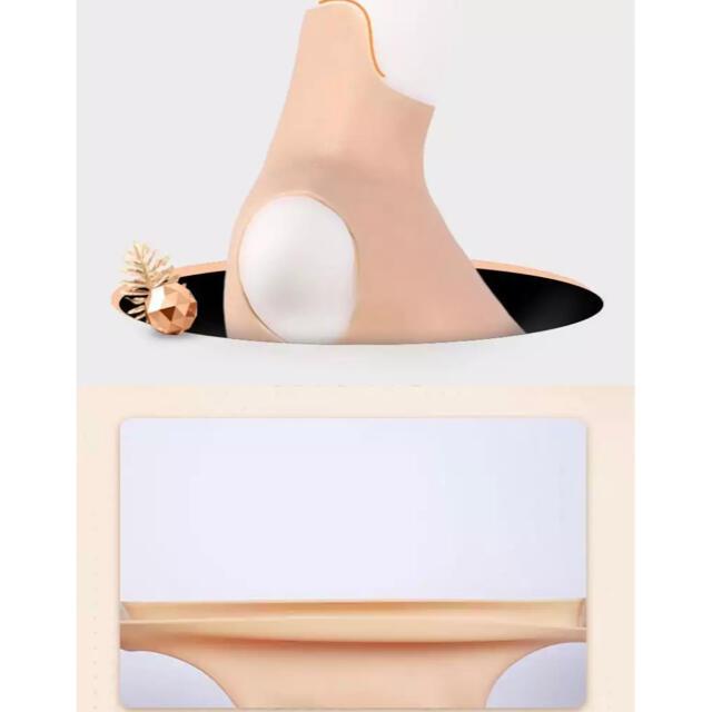 シリコン胸 Ccup コスプレ  偽乳 エンタメ/ホビーのコスプレ(コスプレ用インナー)の商品写真