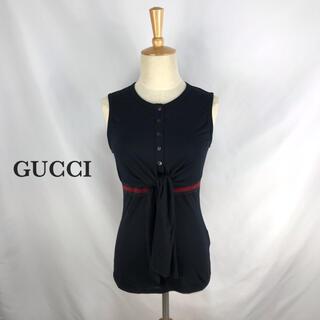 グッチ(Gucci)のGUCCI グッチ カットソー 高級 イタリア製 Tシャツ レディース シェリー(Tシャツ(半袖/袖なし))
