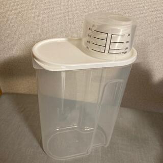 ムジルシリョウヒン(MUJI (無印良品))の無印☆冷蔵庫用米保存容器 約2kg用(収納/キッチン雑貨)