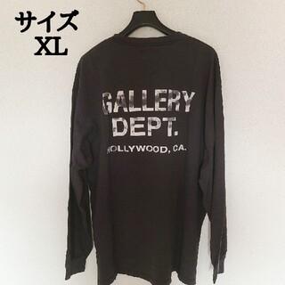 正規品 GALLERY DEPT ギャラリーデプト プリント  ロンT XL(Tシャツ/カットソー(七分/長袖))