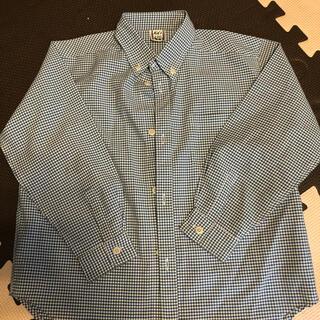 モンベル(mont bell)のmonbell ギンガムチェックシャツ 120(Tシャツ/カットソー)