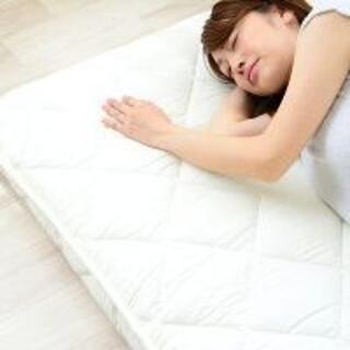 未使用〇抗菌防臭綿使用 極厚 敷布団 セミシングルサイズ(布団)