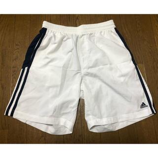 アディダス(adidas)の試着のみ! アディダス メンズテニスショートパンツ L 白紺(ウェア)