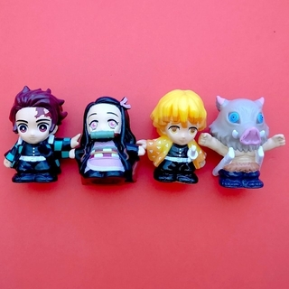 最終sale!! 鬼滅の刃 すくい人形 4体セット(キャラクターグッズ)