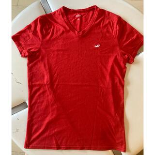 ホリスター(Hollister)のホリスターTシャツ 赤S(Tシャツ/カットソー(半袖/袖なし))