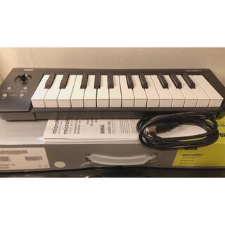 コルグ(KORG)のKORG microKEY-25 MIDIキーボード(キーボード/シンセサイザー)